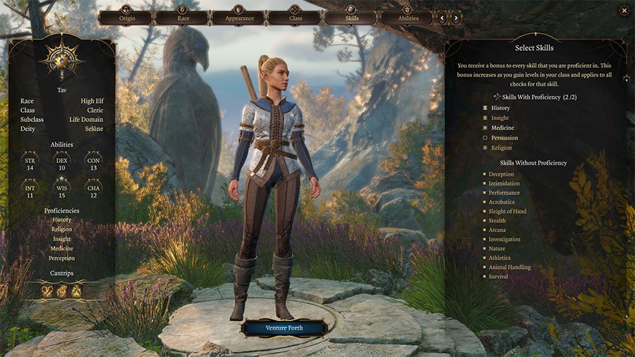 Character Creation Guide - Skills