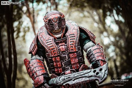 Cosplay Wednesday – Gears of War's Theron Guard