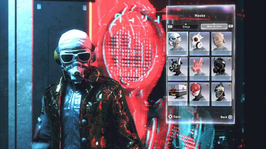 Goggle Gas Mask 1 2