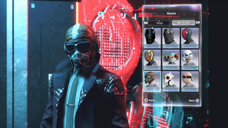 Goggle gasmask 2 2