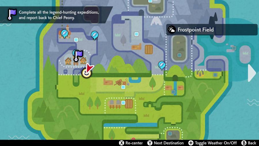 Grassland Pokemon Evidence Locations 1