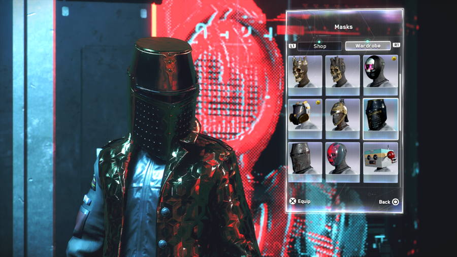 Knights Helm 2 Watch Dogs Legion