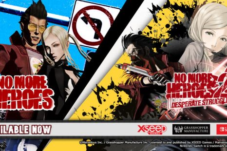 No More Heroes and No More Heroes 2: Desperate Struggle Remasters Now Available