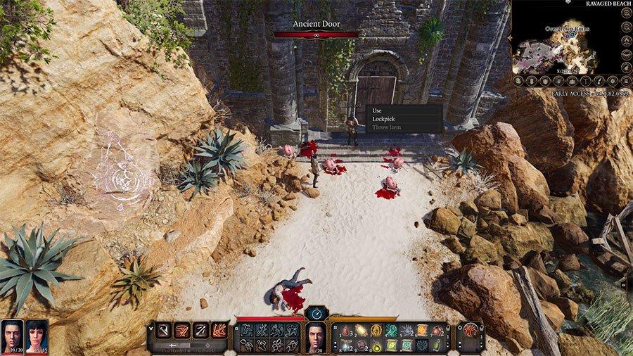Open Overgrown Ruins In Baldur's Gate 3