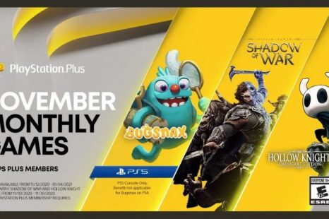 Bugsnax, Middle-earth: Shadow of War and Hollow Knight: Voidheart Edition Coming to PlayStation Plus November 2020