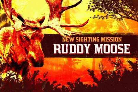 Legendary Ruddy Moose Sighting Mission This Week in Red Dead Online
