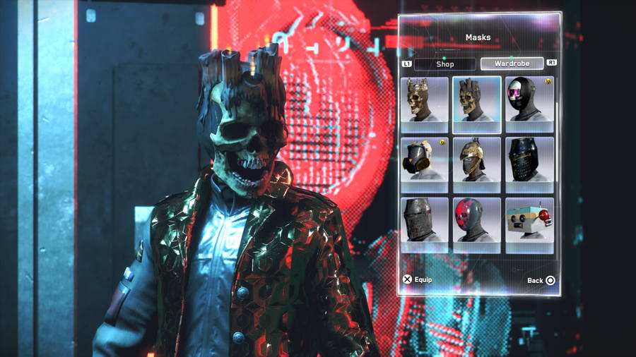 Skull Mask 3 Watch Dogs Legion