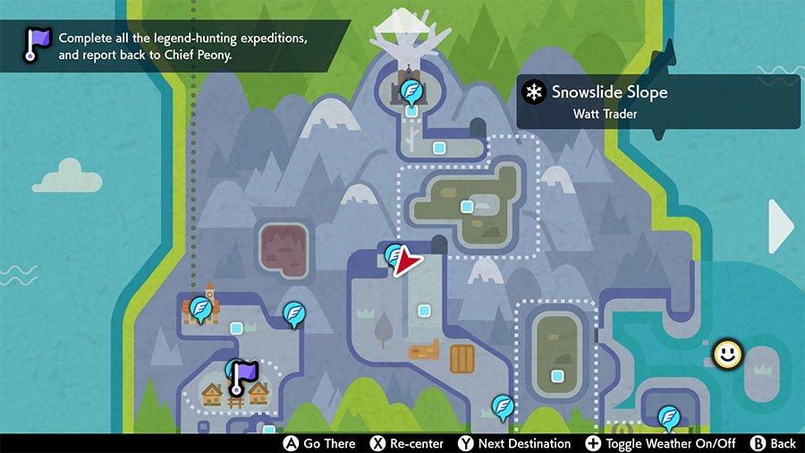 Snowslide Slope