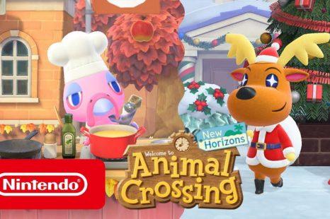 Winter Coming to Animal Crossing: New Horizons