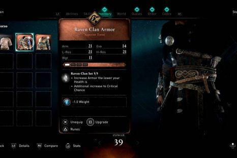 Assassin's Creed Valhalla Armor Set Location Guide