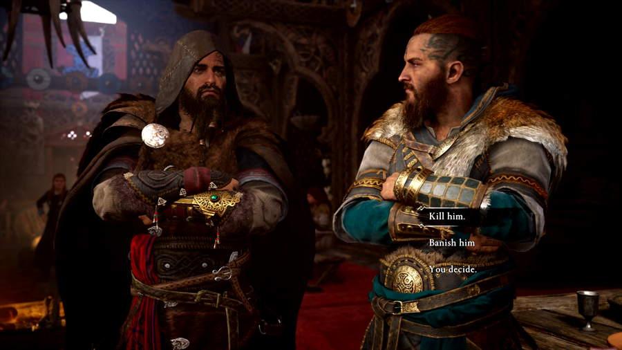 Assassin's Creed Valhalla Banish Or Kill Gorm Choice