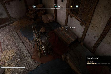 Assassins Creed Valhalla Lincolnscire Treasure Hoard Map Guide