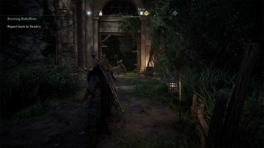 Assassins Creed Valhalla Oxenefordscire Treasure Hoard Map Guide