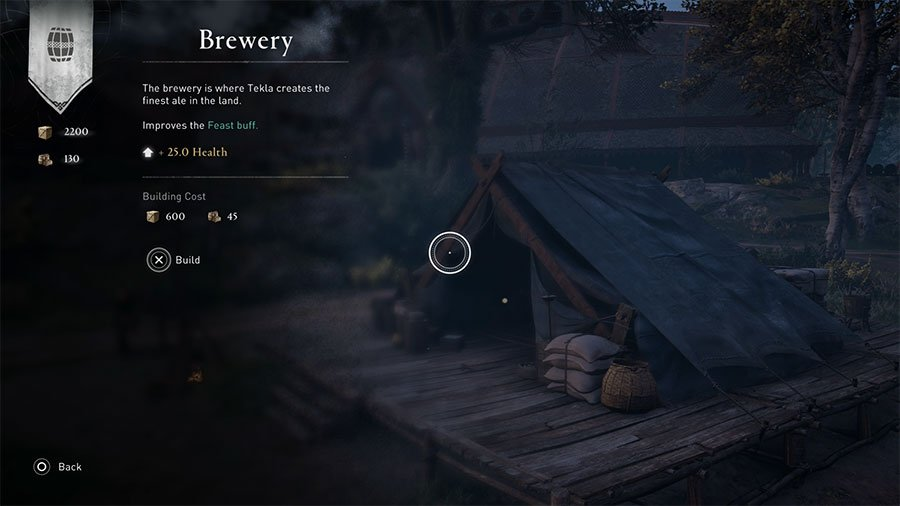 Brewery (Colony Level Renown)