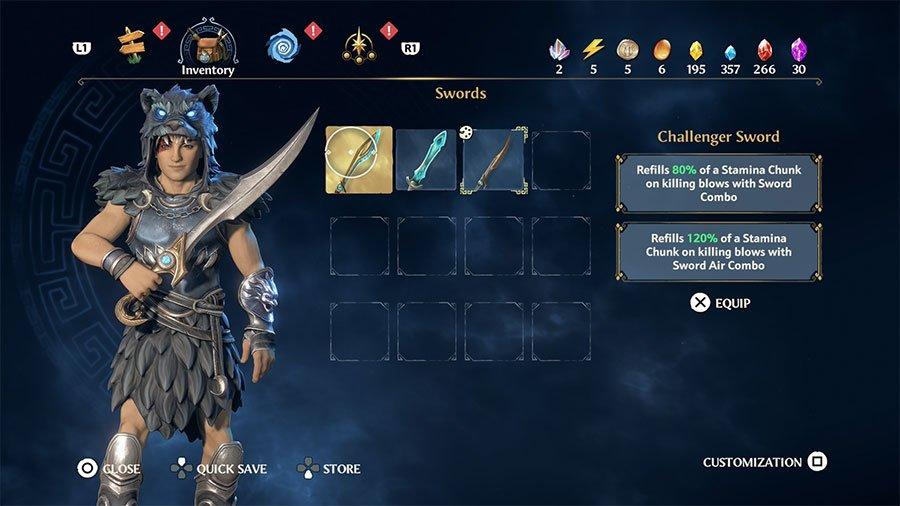 Challenger Sword