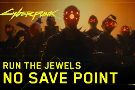 Cyberpunk 2077 runs jewel music video