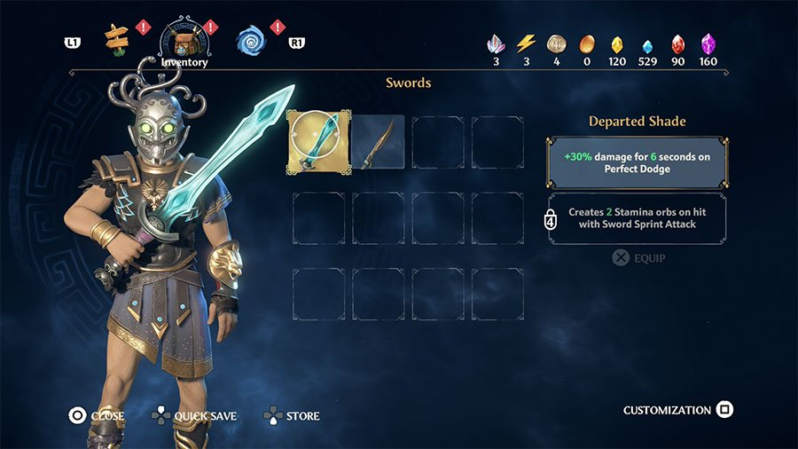 Departed Shade (Sword)