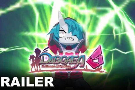 Disgaea 6: Defiance of Destiny Gets New Story Trailer