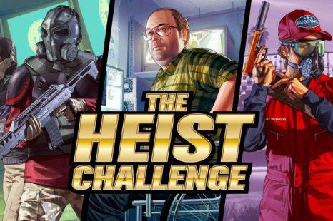 The Heist Challenge Coming to GTA Online