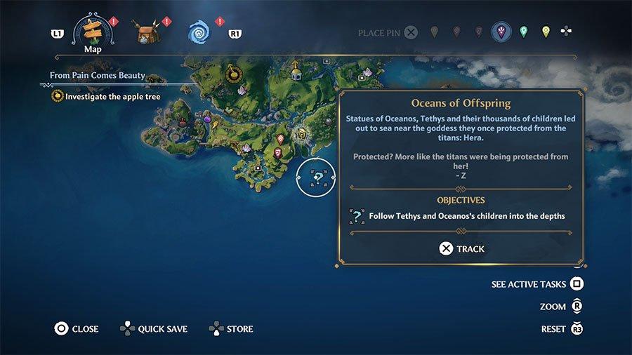 Immortals Fenyx Rising Hidden Quests Guide