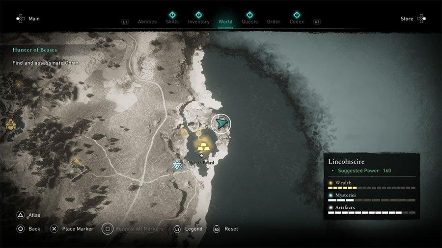 Lincolnscire Treasure Hoard Map Solution
