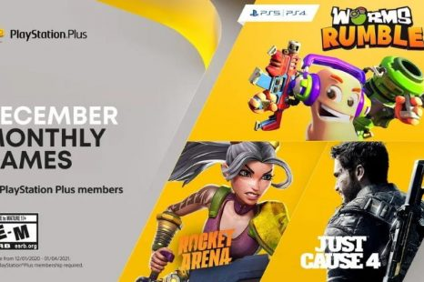 Worms Rumble, Just Cause 4 and Rocket Arena Coming to PlayStation Plus December 2020