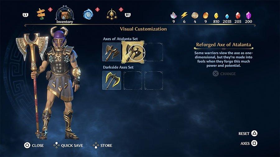 Reforged Axe Of Atalanta