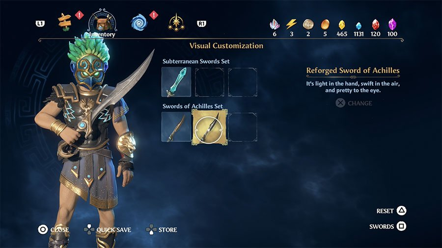 Reforged Sword Of Achilles