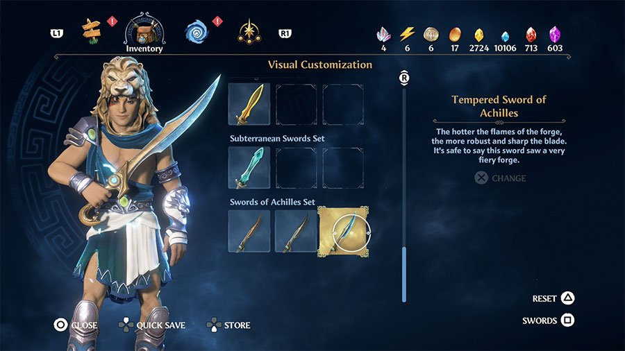 Tempered Sword Of Achilles