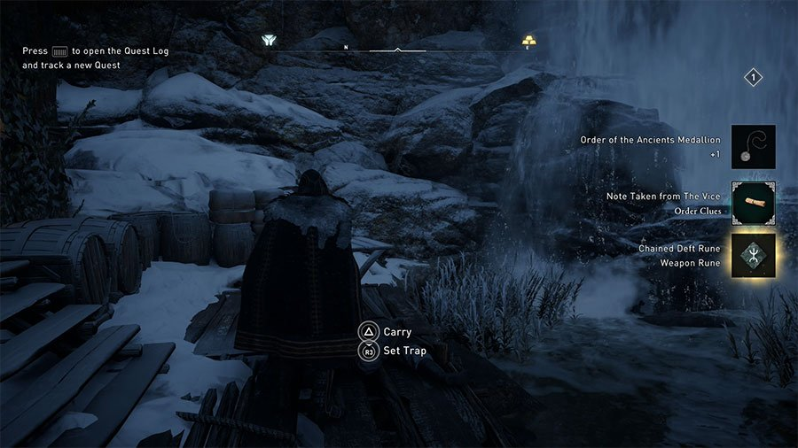 Where To Find Diamond Shaped Ruins In Assassin's Creed Valhalla