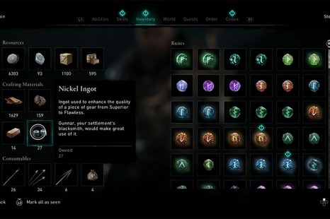 Where To Find Nickel Ingots In Assassin's Creed Valhalla
