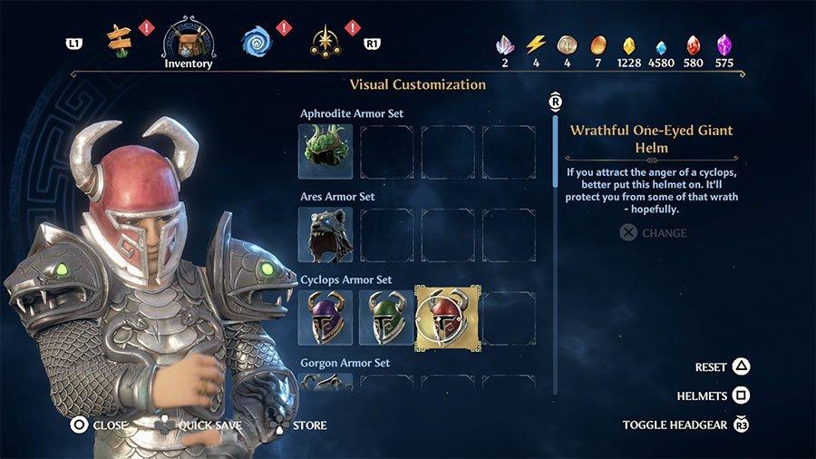 Wrathful One-Eyed Giant Helm