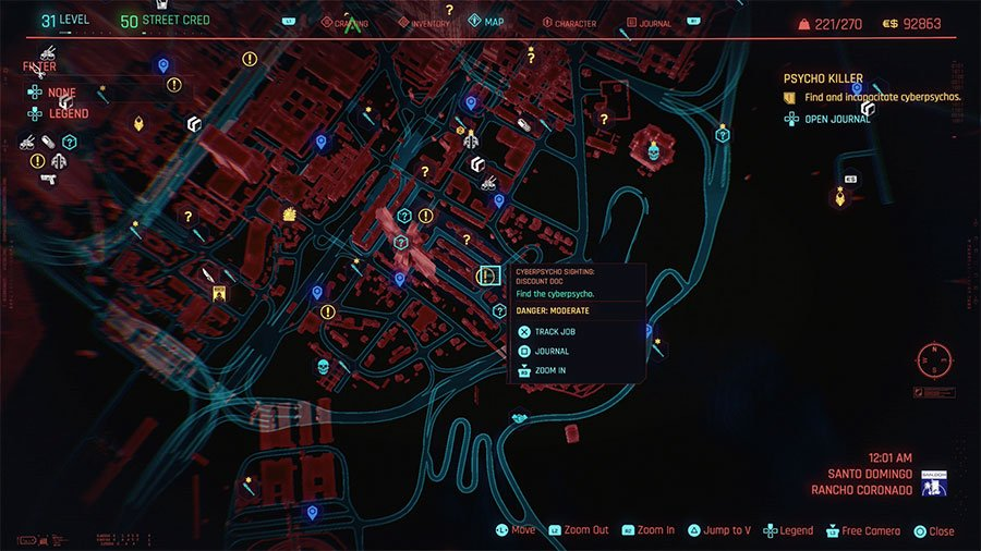 Cyberpsycho Location #1 (Discount Doc)