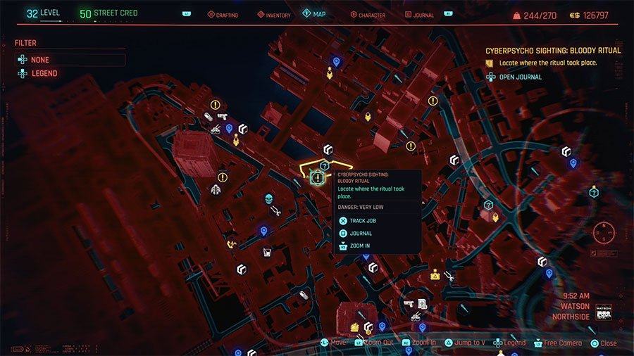 Cyberpsycho Location #12 (Bloody Ritual)