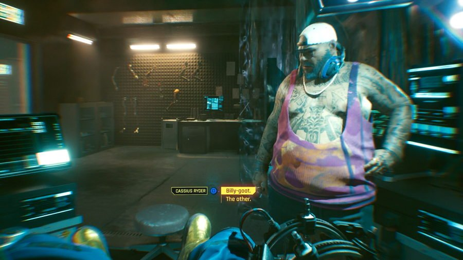 Cyberpunk 2077 Billy-Goat Or The Other Choice Guide