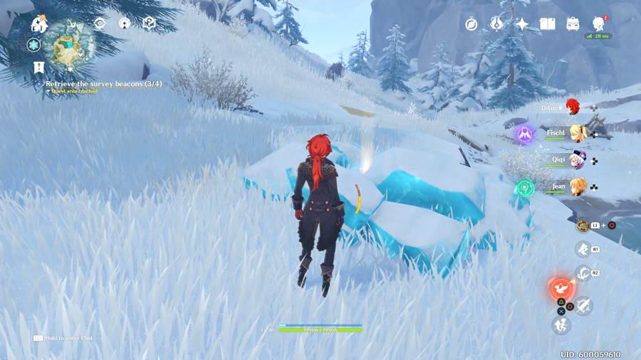 Genshin Impact How To Break Ice In Dragonspine