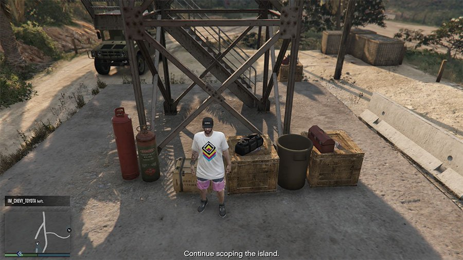 Grappling Hook Location Guide For Cayo Perico Heist In GTA Online Guide