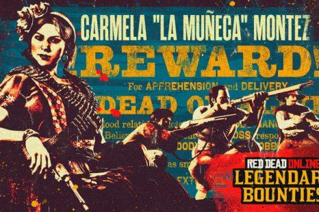 Legendary Bounty Carmela Montez Coming to Red Dead Online