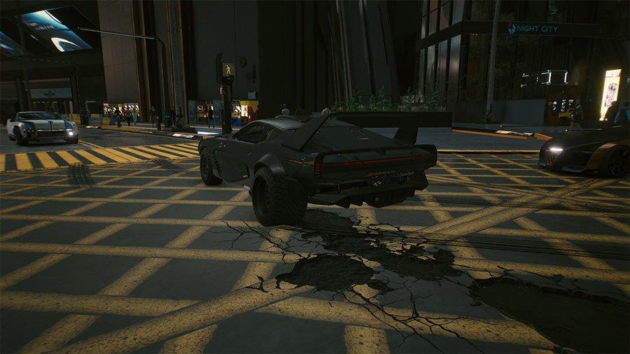 Top 5 Best Cars In Cyberpunk 2077