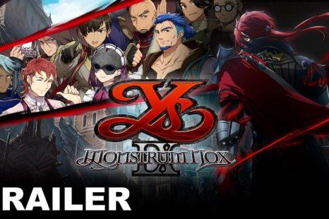 Ys IX: Monstrum Nox Gets New Story Trailer