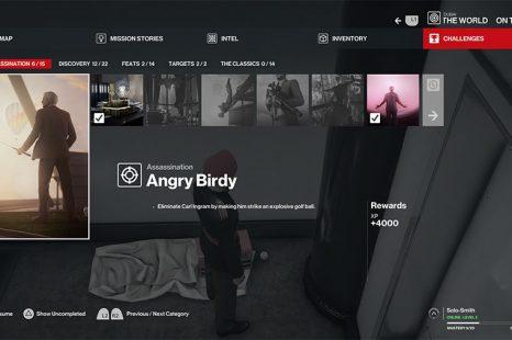 Hitman 3 Dubai Angry Birdy Challenge Guide