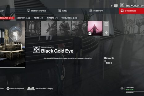 Hitman 3 Dubai Black Gold Eye Challenge Guide