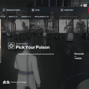 Hitman 3 Tasteless, Traceless & Pick Your Poison Challenge Guide Dubai
