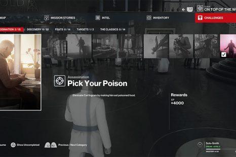 Hitman 3 Tasteless, Traceless & Pick Your Poison Challenge Guide Dubai