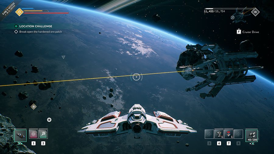 Open The Hardened Ore Patch In Everspace 2