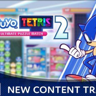 Sonic the Hedgehog Coming to Puyo Puyo Tetris 2