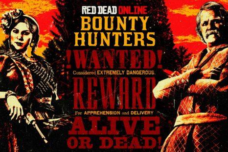 Bounty Hunter Week in Red Dead Online