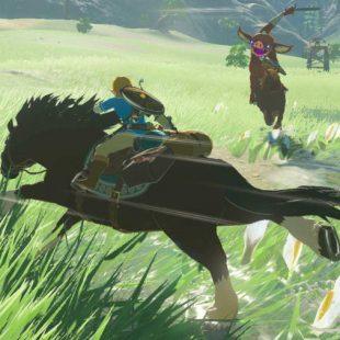 NPCs in The Legend of Zelda: Breath of the Wild Are Advanced Miis