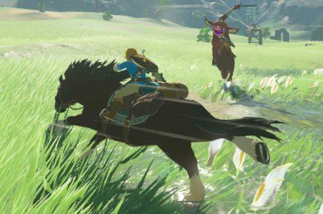 The Legend of Zelda: Breath of the Wild NPC is an advanced Miis