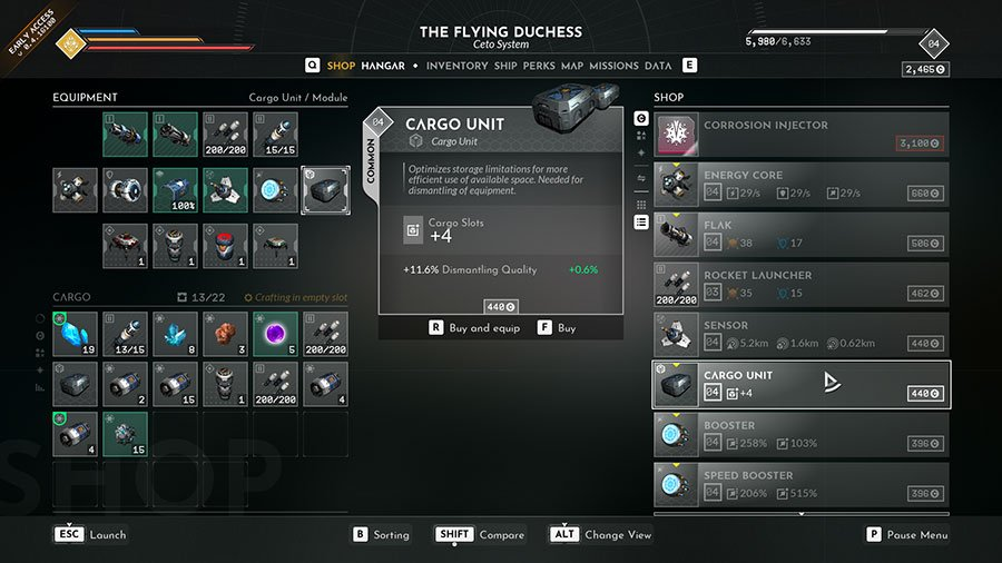 Where To Buy Cargo Unit In Everspace 2